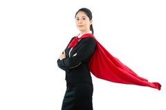 Zaufanie prawnika uśmiechnięty super bohater Fotografia Royalty Free