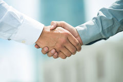 Zaufany partnerstwo Zdjęcie Stock