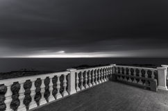 Zaun auf dem Meer Lizenzfreie Stockfotografie