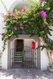 Zaun für einen Durchgang Lizenzfreie Stockbilder