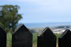 Zaun Farm Stockbild
