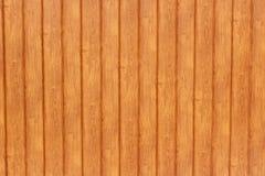 Zaun hergestellt von den hölzernen Latten Stockfotografie