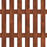 Zaun hergestellt von der nahtlosen Beschaffenheit der Bretter Stockbilder