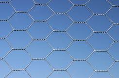 Zaun-Hintergrund Lizenzfreie Stockfotos