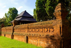 Zaun Of Kasepuhan Palace Stockfotos