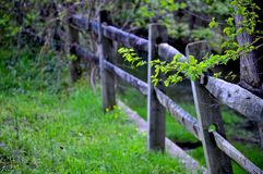 Zaun Line Stockbild