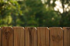 Zaun mit dem Grün Stockbild