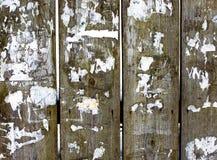 Bretterzaun-Reinigungsanzeigen des rustikalen Hintergrundes alte Stockbilder