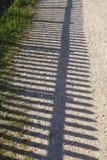 Zaun Shadow Lizenzfreies Stockbild
