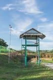 Zaun und Turm Lizenzfreies Stockfoto