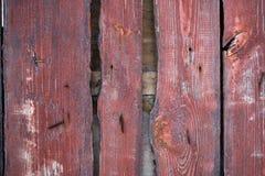 Zaun von den Brettern Stockbild