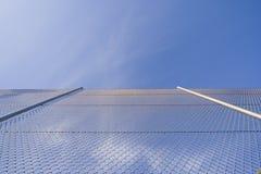 Zaun zum Himmel lizenzfreies stockfoto