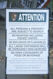 Zauważa ogłaszać przepisy wchodzić do niezależność Krajowego Dziejowego parka, PA Zdjęcia Royalty Free