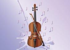 zauważa skrzypce Obraz Royalty Free