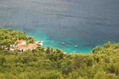 Zavala on Hvar, Croatia Royalty Free Stock Photos