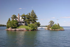 Zavikon Island, Thousand Islands Royalty Free Stock Photos