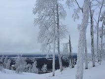 Zavjalikha Ski resort. Chelyabinsk region, Russia royalty free stock images