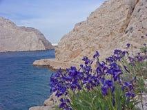 Zavratnica - Naturwunder auf der kroatischen Küste Stockfotografie