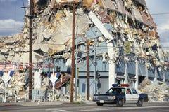 Zawalony budynek Zdjęcie Stock