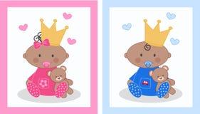 zawiadomienia dziecko royalty ilustracja