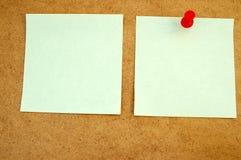 Zawiadomienie deska z mną note-2 zdjęcia stock