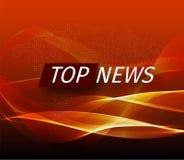 Zawiadomienie i wiadomości linia z wiadomością o opóźnionej wiadomości na powietrzu na futurystycznym kolorze czarnym i pomarańcz royalty ilustracja