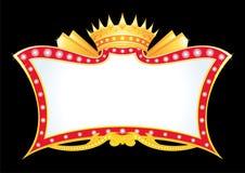 zawiadomienie królewski Obraz Stock