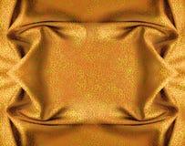 zawiera ornamentu kwiecistego pomarańczowego atłas Zdjęcia Royalty Free