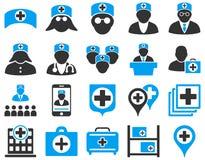 zawiera wycinek cyfrowej medycznego ilustracyjnego ikony ścieżki zestaw Zdjęcia Royalty Free