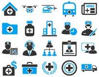 zawiera wycinek cyfrowej medycznego ilustracyjnego ikony ścieżki zestaw Fotografia Stock