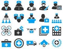 zawiera wycinek cyfrowej medycznego ilustracyjnego ikony ścieżki zestaw Obrazy Stock