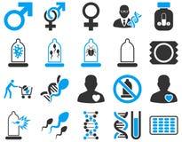 zawiera wycinek cyfrowej medycznego ilustracyjnego ikony ścieżki zestaw Obraz Royalty Free