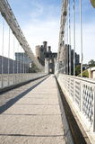 zawieszenia bridżowy telford Thomas Zdjęcie Royalty Free