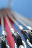 Zawieszenie kabel. Obrazy Royalty Free
