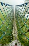 Zawieszenie most obraz stock