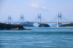 Zawieszenie most Zdjęcia Royalty Free