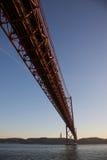 Zawieszenie most Fotografia Stock