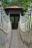 Zawieszenie most zdjęcia stock