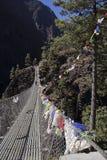 Zawieszenie most Obrazy Royalty Free