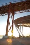 Zawieszenie most Zdjęcie Royalty Free