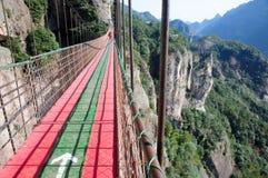 Zawieszenie most Chiny zdjęcie royalty free