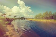 Zawieszenie most o zdjęcia royalty free