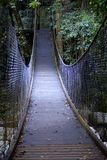Zawieszenie spaceru most Obrazy Royalty Free
