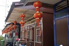 Zawietrzny Jetty, Georgetown, Penang, Malezja Zdjęcie Stock