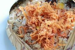 zawijający lotosowi liść ryż Obrazy Stock