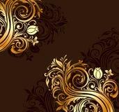 Zawijasów ornamenty Obrazy Royalty Free