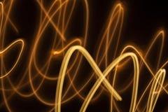 Zawijas błyska jarzący się linii tło Zdjęcie Royalty Free