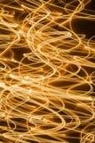 Zawijas błyska jarzący się linii tło Obrazy Royalty Free