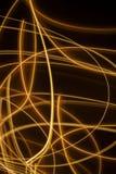 Zawijas błyska jarzący się linii tło Obrazy Stock