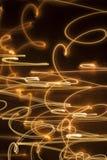 Zawijas błyska jarzący się linii tło Zdjęcia Royalty Free